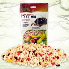 Fruit mix for reptiles.