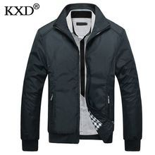 US $19.00 KXD 2017 New Arrival Spring Men's Jackets Solid Fashion Coats Male Casual Slim Stand Collar Jacket Men Thin coat Overcoat M-XXXL. Aliexpress product