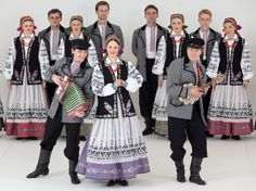 Hrubieszow, Poland Folk Clothing, Historical Clothing, Folk Costume, Costumes, Polish Folk Art, Arte Popular, Folklore, Traditional Outfits, Culture