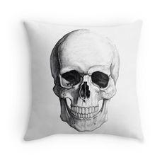 Skull Throw Pillows