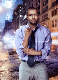 Isaiah Mustafa as Luke Garroway #Shadowhunters