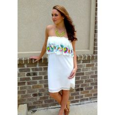 Divine Dynasty - NEW dress by Shop Missy Robertson! We're in LOVE with this beautiful dress and the embroidery!  $88