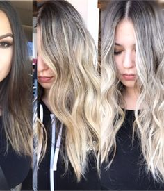 HOW-TO: Balayage with Cool, Pale Blonde Ends - Hairstyling & Updos - Modern Salon