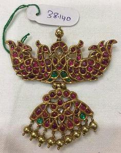 Antic Jewellery, Indian Jewellery Design, Temple Jewellery, Jewelry Design, Ruby Jewelry, India Jewelry, Gold Jewelry, Jewelery, Bold Necklace