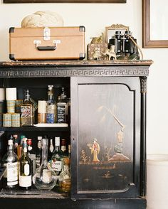 The Furniture Piece You're Missing for the Holiday Season: The Bar Cabinet