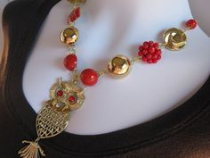 Statement Necklace Reclaimed Vintage by JenniferJonesJewelry