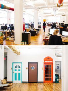 15 bureaux de start up au design étonnant
