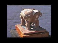 Peter Fenesi (Feneshi) Ceramic Sculptures The confusion 2 - YouTube
