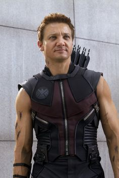 """Jeremy Renner in """"The Avengers"""". . . this man melts my butter!"""