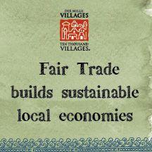 Shop Fair!  #FairTrade #ConsciousConsumer