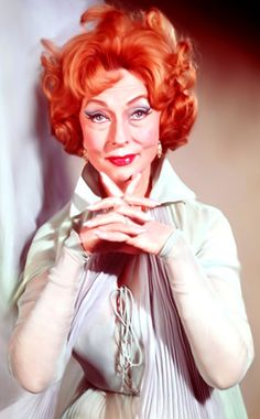 Endora from Bewitched... i loved her, i hated derwood. never understood why samantha married that asshole.