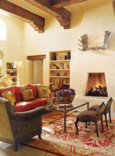 Southwest Spanish Pueblo | Wiseman and Gale Interior Design