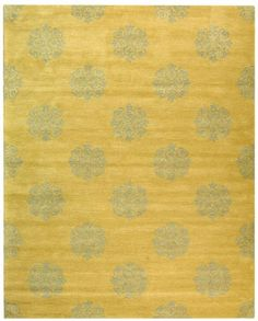 Safavieh Soho Collection SOH424D Handmade Beige Wool Area Rug, 5 feet by 8 feet (5′ x 8′)