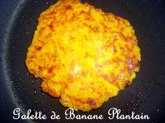 Recette - Galette de banane plantain | Notée 4/5
