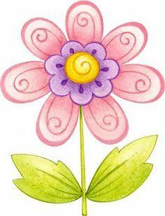 flores dibujos - Buscar con Google