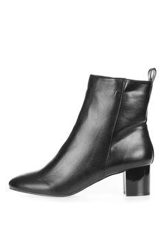 b3e155f89e58b7 BELLA Vista Ankle Boots. Schwarze StiefelettenSchuh StiefelTopshop