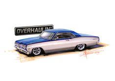 overhaulin design sketches - Google Search