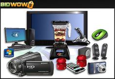 Bidwow.com is a cutting edge auction website that will change the way you shop for high end goods without spending a fortune. With a state-of-the-art infrastructure and the most forward-thinking staff in the business, Bidwow.com is pleased to offer the hottest premium items such as video game consoles, televisions, desktop and laptop computers, digital cameras, tickets to your favorite concerts or sports teams, and so much more!