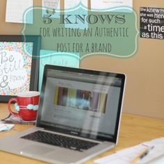 5 KNOWs for Writing for Brands Authentically