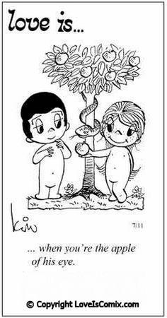 Love is... Comic for Fri, Sep 09, 2011