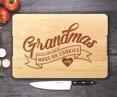 Personalized Cutting board Custom Engraved Cutting board