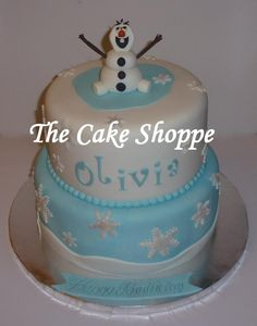 Frozen themed cake - Cake by THE CAKE SHOPPE