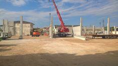 Verona, San Giovanni Lupatoto, cantiere per nuovo immobile commerciale di 1.300mq di slp