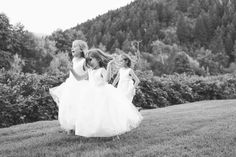 Flower girl fun