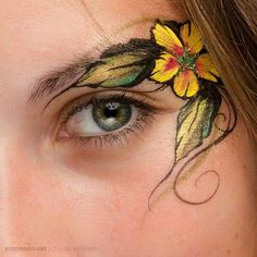Eye art > I like how it blends with the brow, like so..