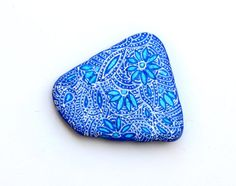 Hand+Painted+Zentangle+Stone+by+ISassiDellAdriatico+on+Etsy,+€15.00