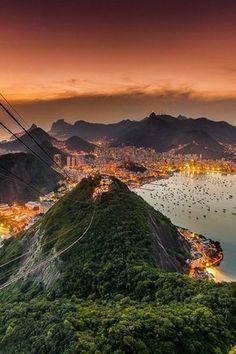 Rio de Janeiro  (Päo de Açucar) Brazil