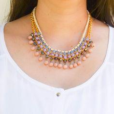 Collar Etnik Morado  Compra tus accesorios en www.dulceencanto.com #accesorios #accessories #aretes #earrings #collares #necklaces #pulseras #bracelets #bolsos #bags #bisuteria #jewelry #medellin #colombia #moda #fashion