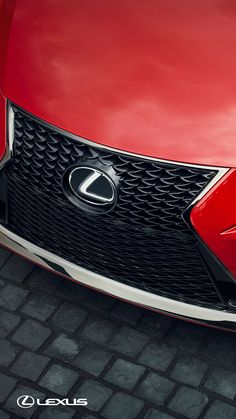 A face for thrill. The 2018 #LexusIS F SPORT's mesh grille will make all your entrances worth noticing. #WoodfieldLexus #resnickautogroup
