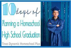 10 Days of Plannning Homeschool Highschool Graduation thumb Free Homeschool Community Service Planning Record