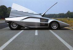 concept cars of the 70's | 1970 Lancia Stratos Zero ( Bertone )