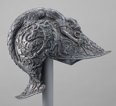 The ceremonial and parade helmets of Charles V | Filippo and Francesco Negroli, 1545