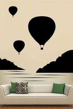 Wall Decals - Balloon Bunch | WALLTAT.com