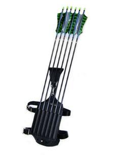 Archery Leg Quiver #ravenswoodleather
