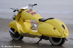 Vespa Acma 1954 Custom  (not a Cafe Racer but so what)