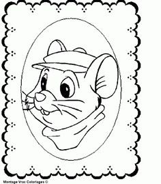 The Rescuers Coloring Page