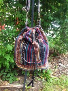 Boho Hippie Bucket Bag
