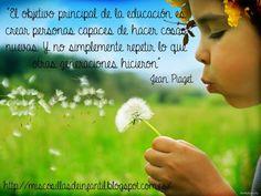 EL OBJETIVO PRINCIPAL DE LA EDUCACIÓN…