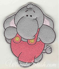Feltie elephant