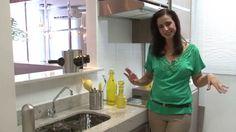MRV Decora: Veja dicas de decoração da sala 2 ambientes e cozinha um apê...