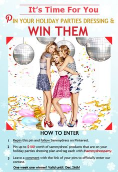 Holiday contest: http://www.pinterest.com/pin/339881103099890302/ #sweeps #sweepstakes #christmas #holiday #new year #wish list #woman #girl #giveaway #party #pin #fashionblog #fashiondiaries #ootdmagazine #igfashion #jewelry #instastyle #fashiondiary #simplydapper #fashion #wear #dapper #outfit #party dress #GQ #esquire #wiwt #sweater #tomford #peak #sheinside #detail #swagg #cute #gift #kid #unique #ootd #dress #free people #stylish #clothing #high heels #shoe #sexy #earrings  #ring #jewelry