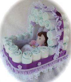 Baby Girl Bassinet