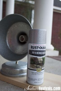 Silver Hammered Galvanized Spray Paint Going To Use On