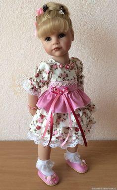Очаровательные рюшки / Одежда и обувь для кукол своими руками / Бэйбики. Куклы фото. Одежда для кукол