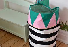 DIY: Sådan syer du en opbevaringspose
