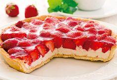 Receita de Torta Light de Morangos